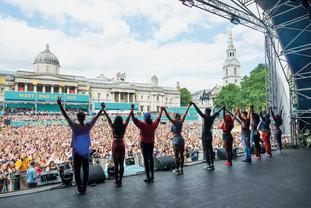Comédies musicales en plein air extravaganza et free. 18 et 19 septembre. Trafalgar Square