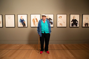 Art. David Hockney : Drawing for life. National Portrait Gallery, Londres.