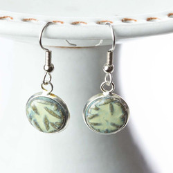 Pottery Earrings by Little e Pottery