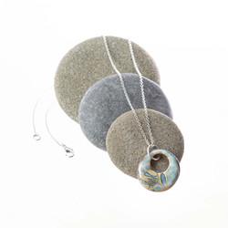 Handmade Pottery Pendant