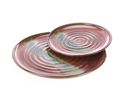 Hand Thrown Pottery Plates