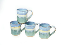 Straight Mugs - handmade pottery