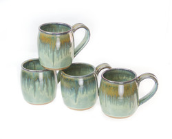Barrel Mugs- handmade pottery