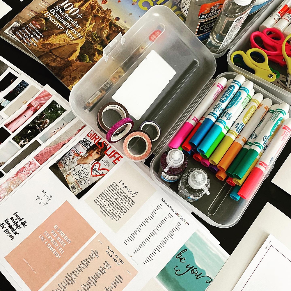 materials for vision boards