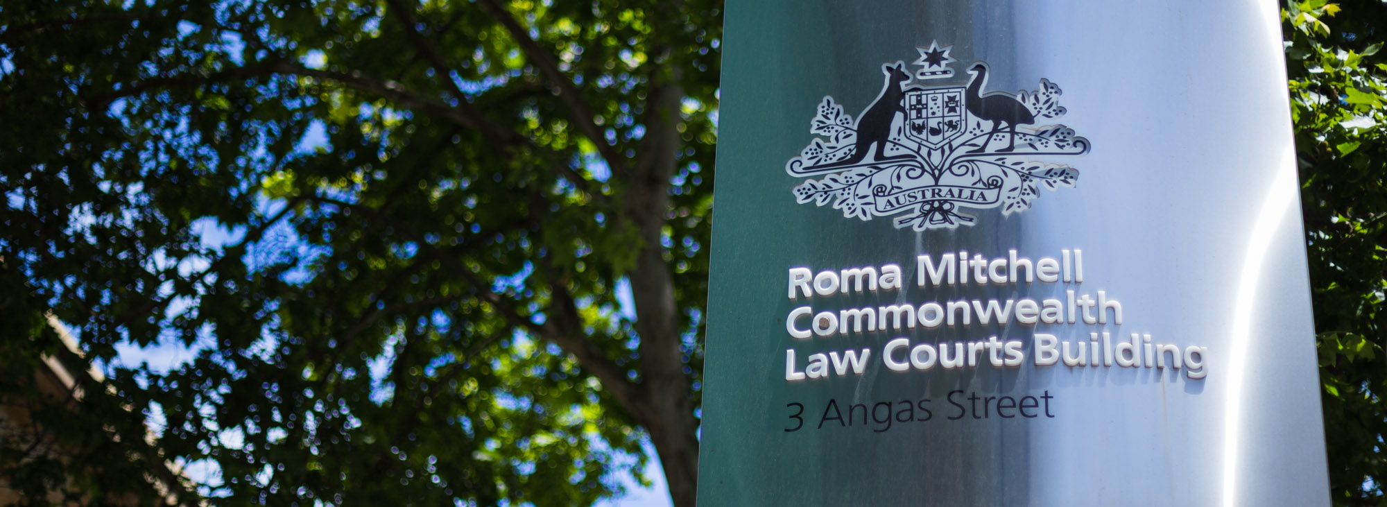 Commonwealth Courts Sign