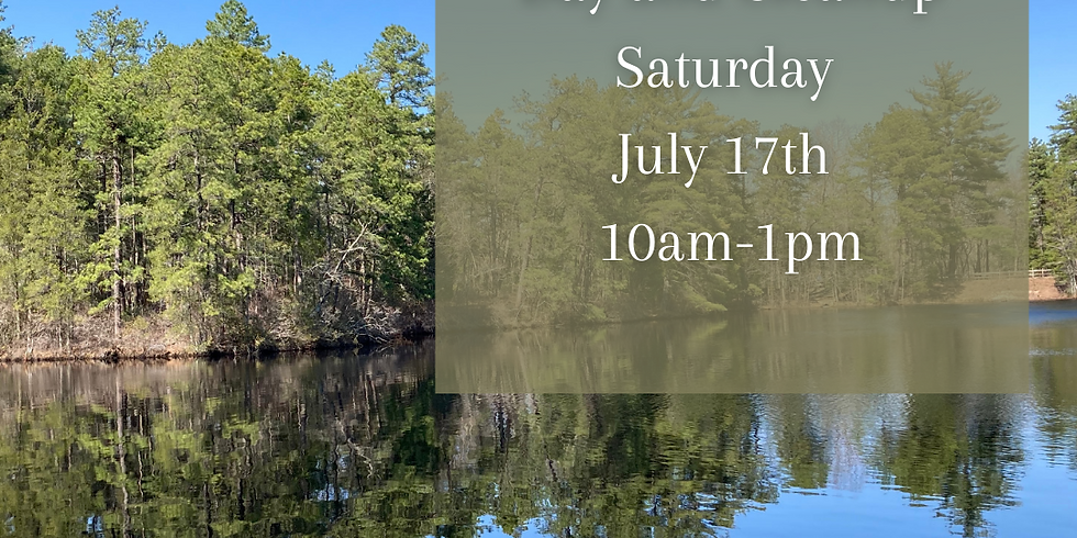Clementon Stream Day and Cleanup
