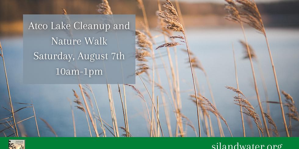 Atco Lake Nature Walk and Cleanup