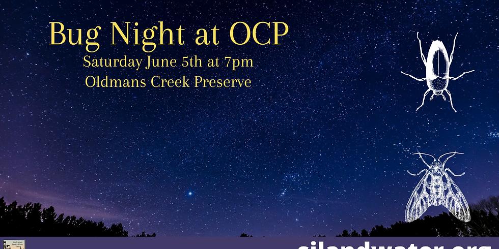 Bug Night at Oldmans Creek
