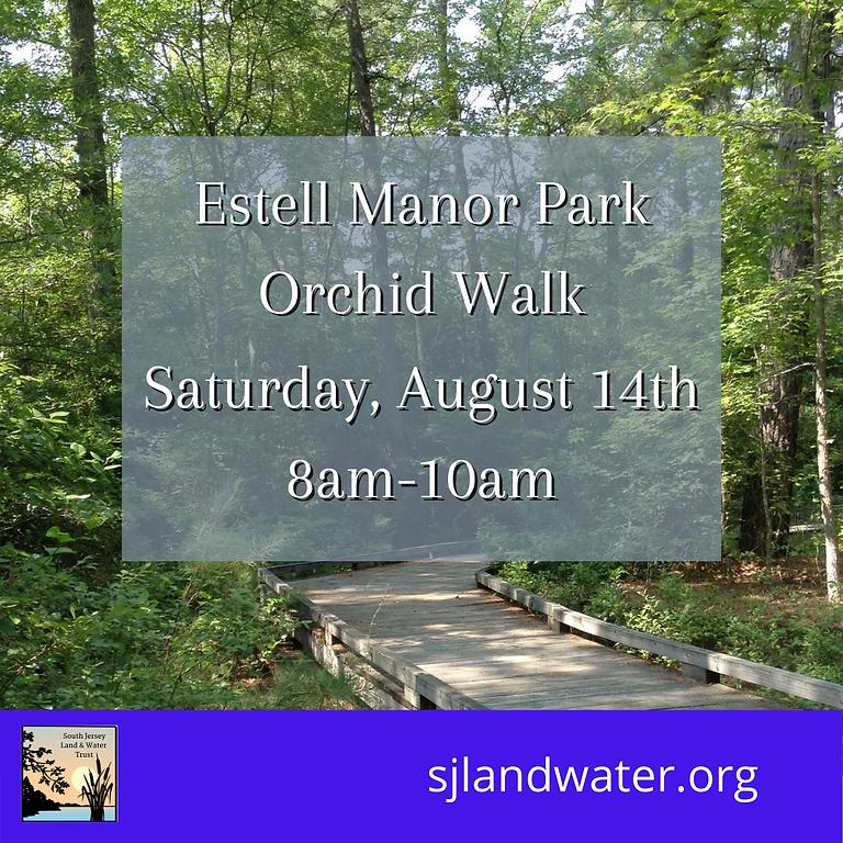 Wild Orchid Walk a Estell Manor Park