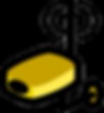 router-video-flat-icon-wireless-cartoon-