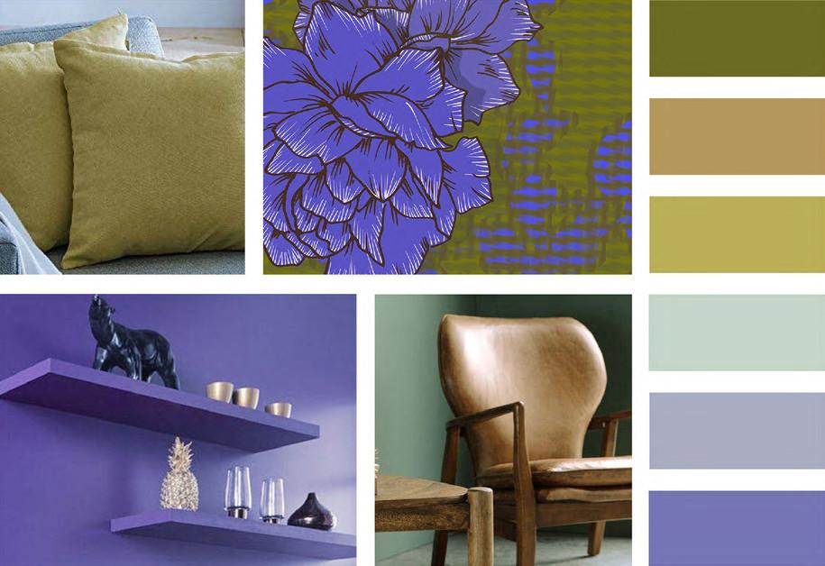 Pulse-Collection-Tissu ameublement-Papier-peint-Haut de gamme-Sur mesure-Mood board-Ambian