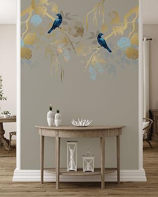 Papier Peint Birds Of Paradise