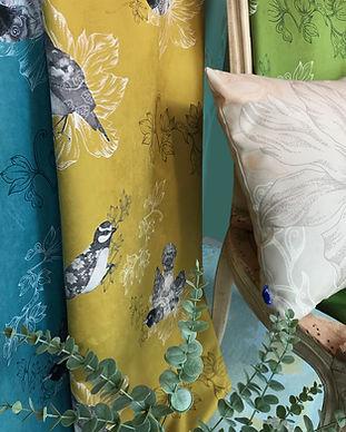 PARADISIERS-Textile d'ameublement