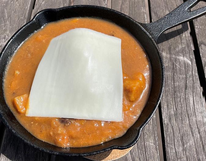 チーズハンバーグ660円
