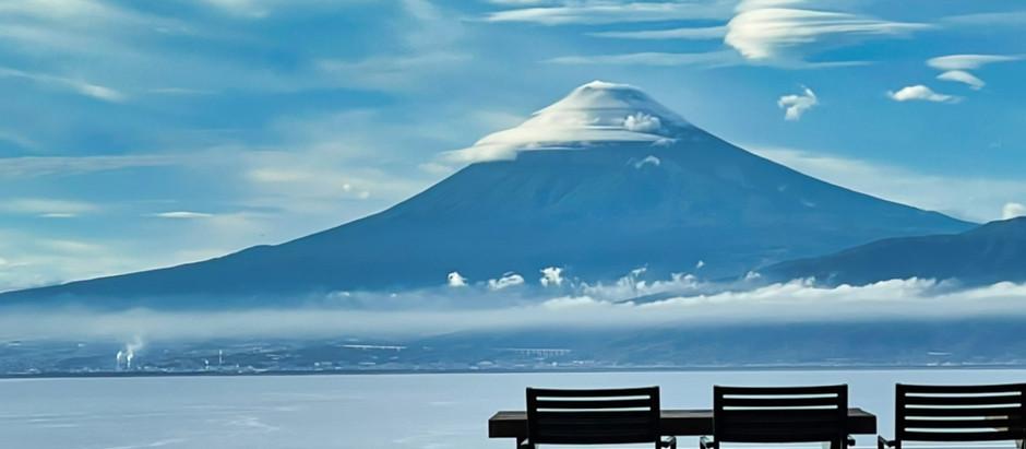 晴れた日には絵に書いたような富士山がご覧いただけます。
