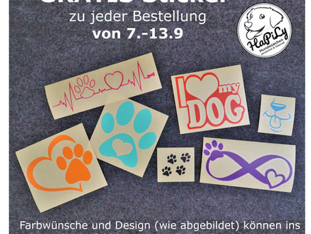 💰 Wochenaktion: GRATIS Sticker💰