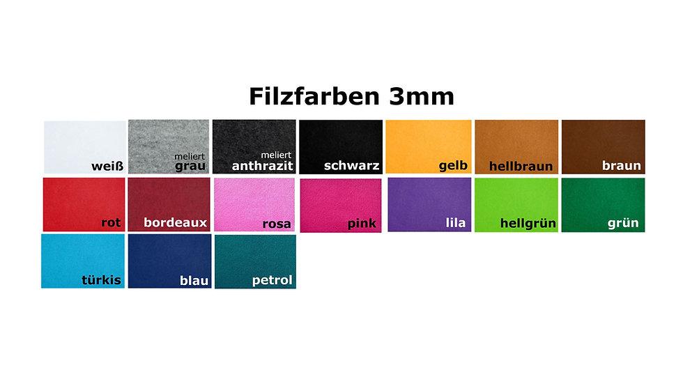 Filz 3mm