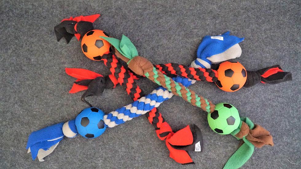 Fußballzergel für Hunde Spielzeug