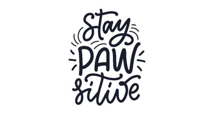 """Sticker """"Paw"""""""