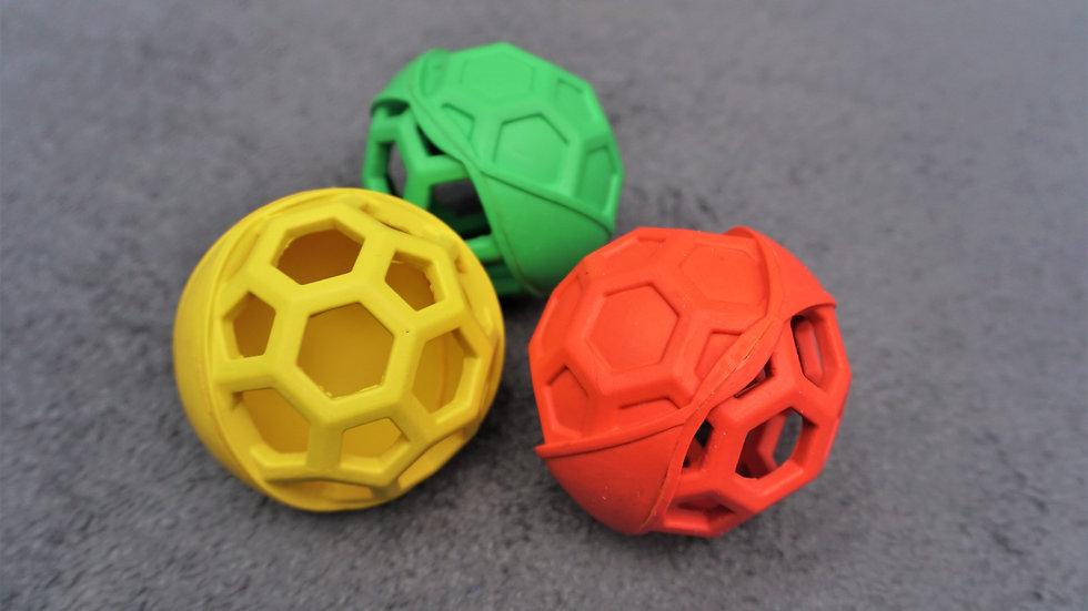 Hundespielzeug Ball Zerrschlaufe Gitterball