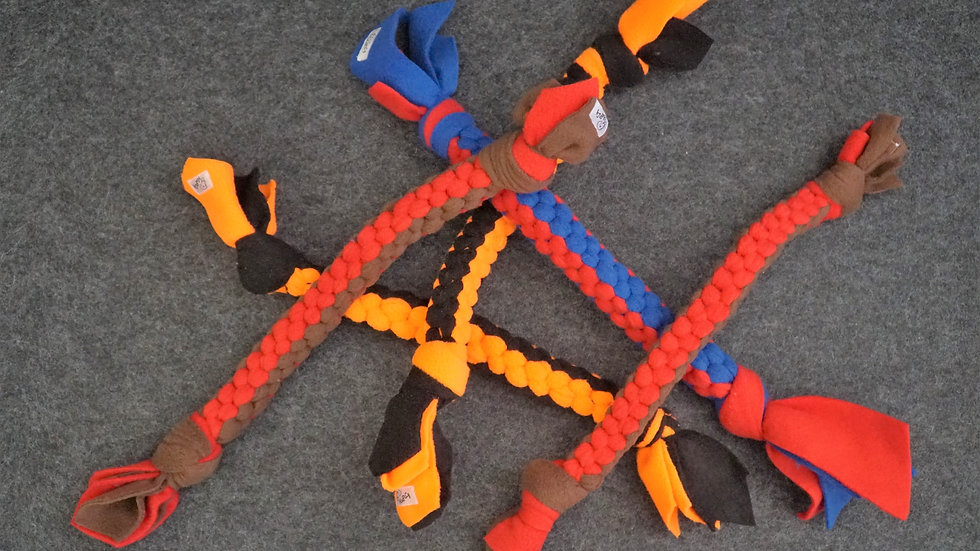 Zerrstrick aus Fleece Hundespielzeug