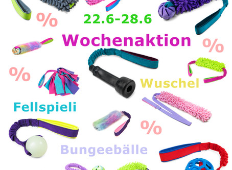 Wochenaktion: Wuschel, Fell & Bungee 💰
