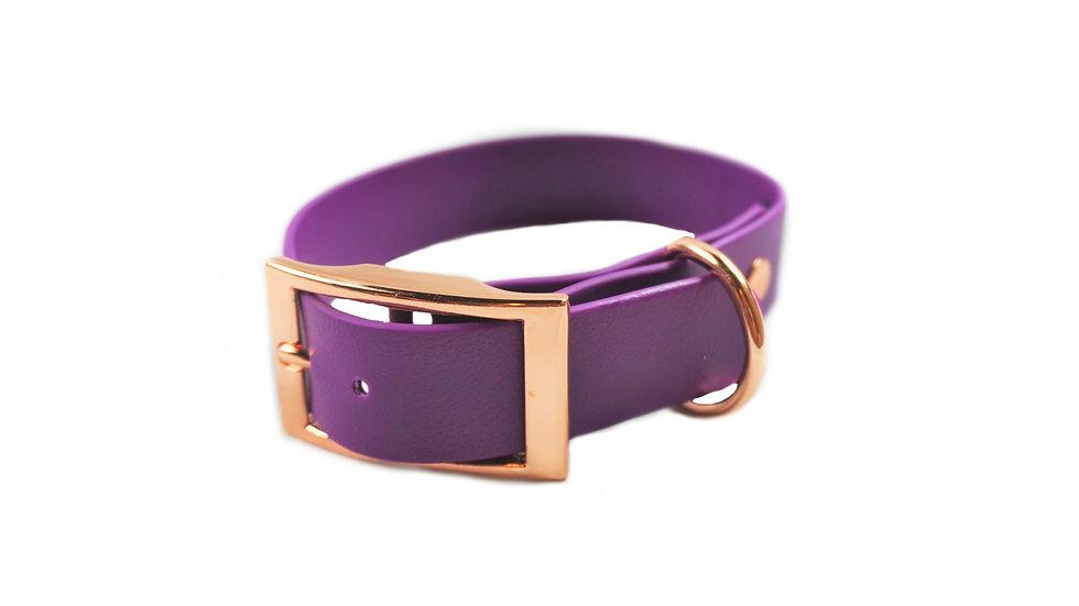 PVC Gurtband Halsband für Hunde mit Wunschtext
