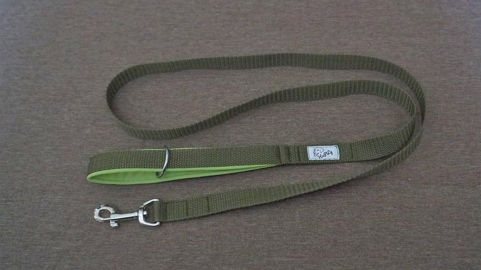 Leine (khaki/grün) 1,5m