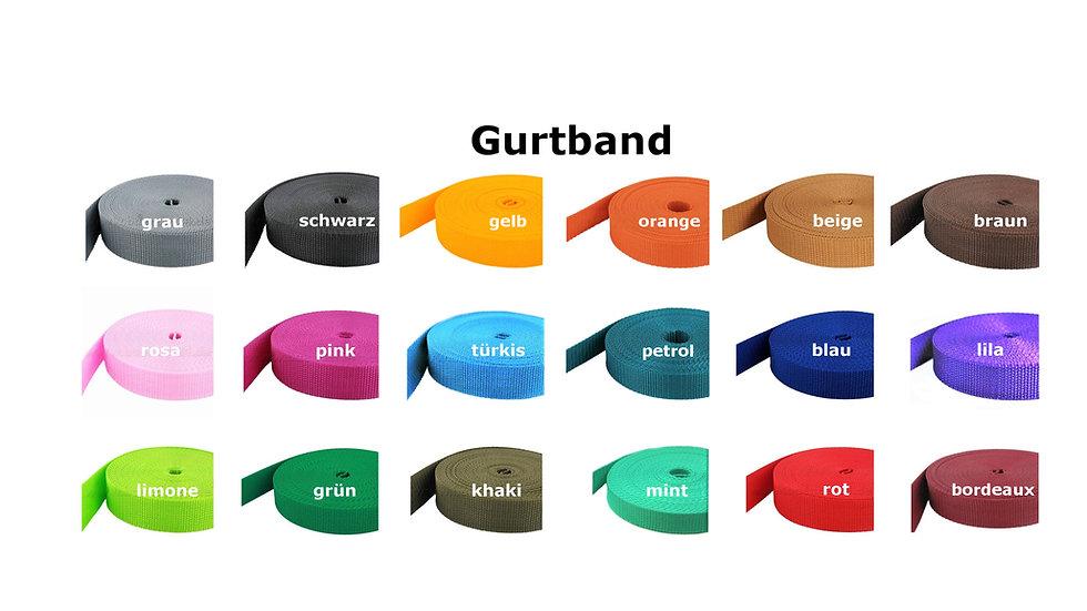Gurtband Meterware
