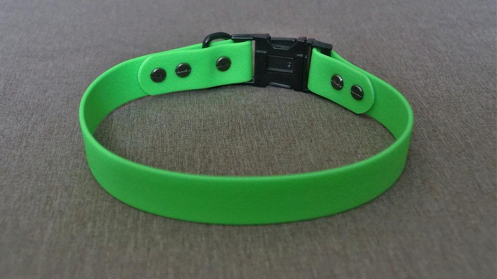 PVC-Halsband grün/schwarz 44cm