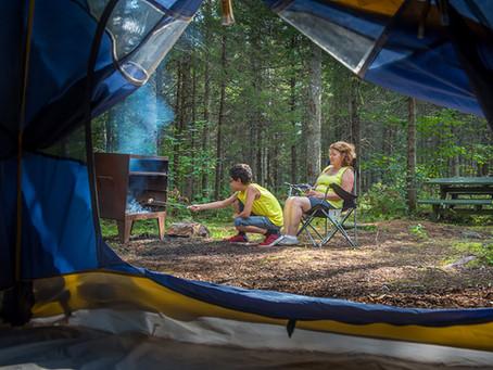 Camping sauvage à Coleraine