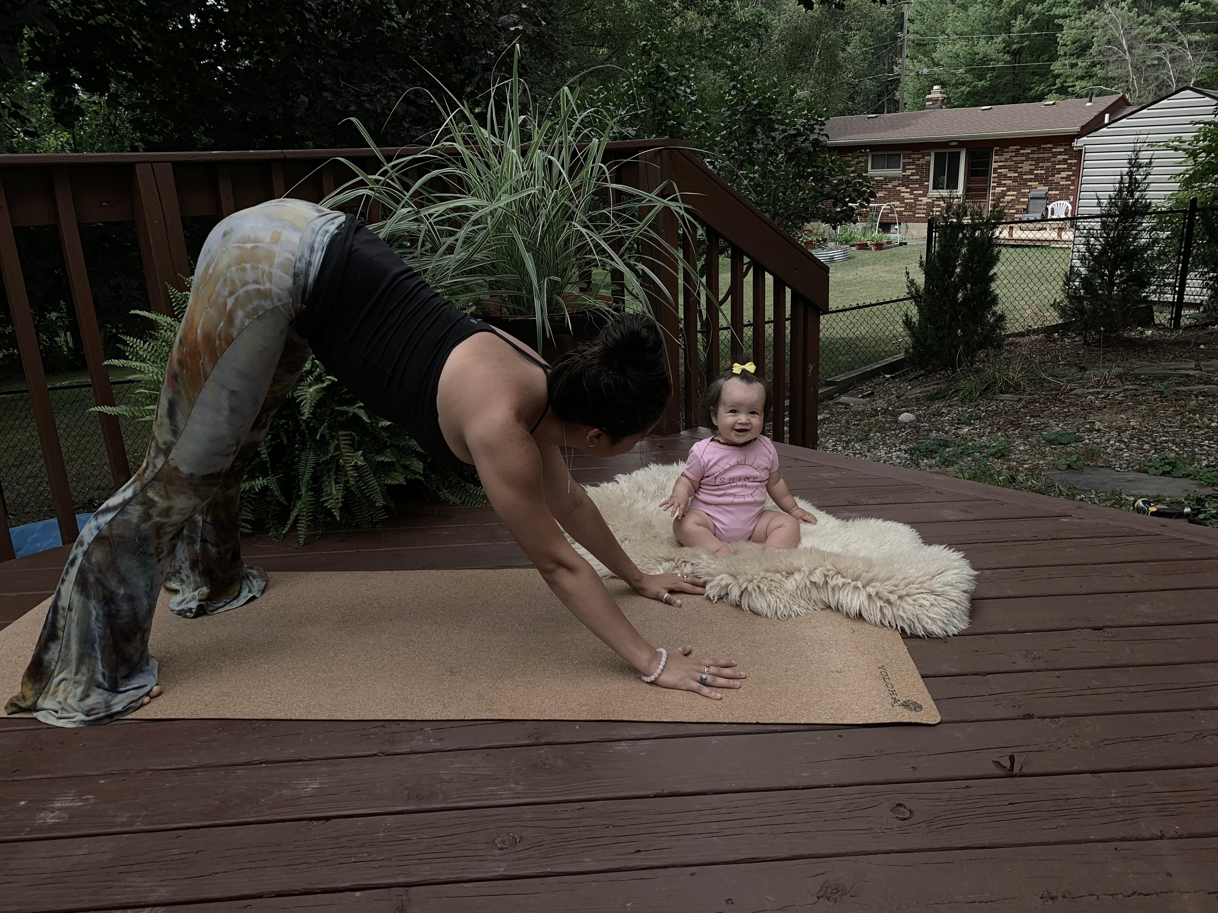 Momma & Baby Buddha Yoga