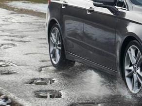 Schade door slechte staat van rijbanen, voet- en fietspaden