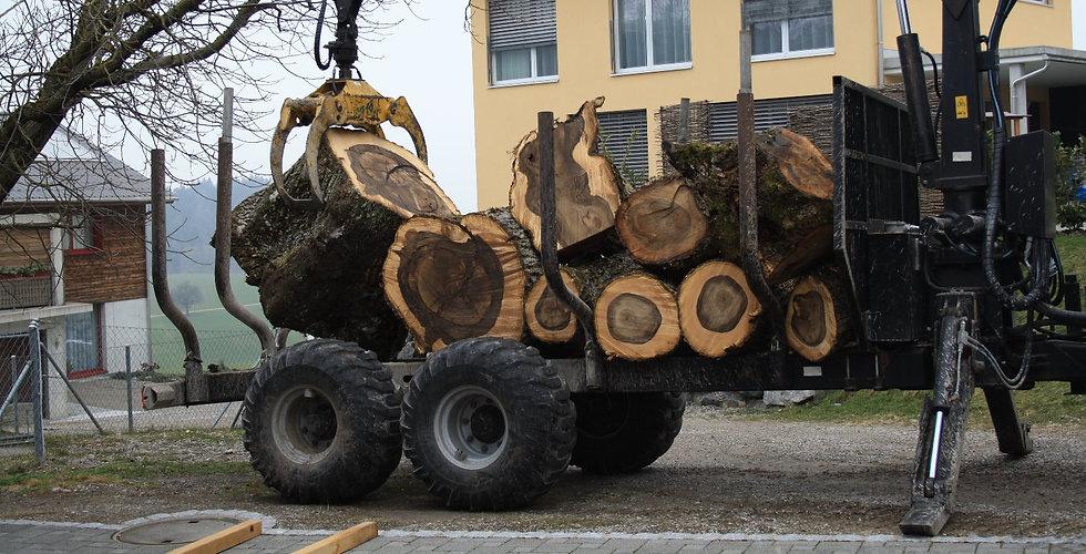 Ich suche Nussbaum aus der Ostschweiz, Massivholz Design Gravur Design Huber