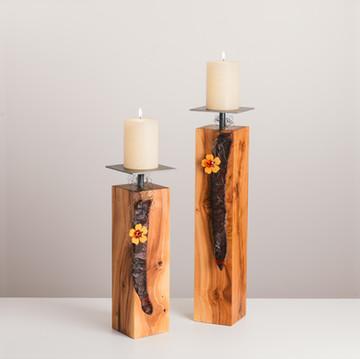 Kerzenständer Apfelbaum