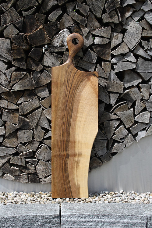 Holzbrett mit Holzgravur