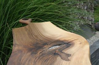 Bild 3: Holz-Schneidebrett Swarovski-Elements.JPG