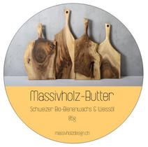 Massivholz-Butter