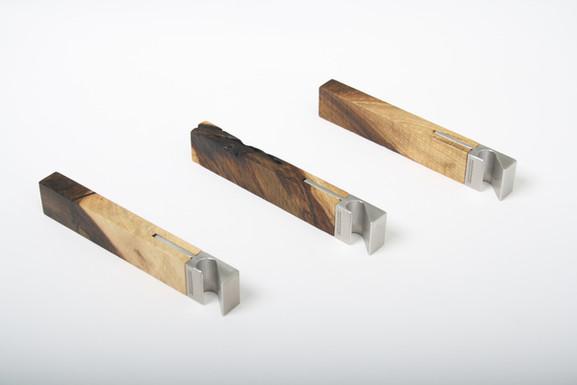 Designer Holz-Flaschenoeffner