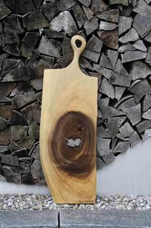 Bild 17: Holz-Schneidebrett Swarovski-Elements.JPG
