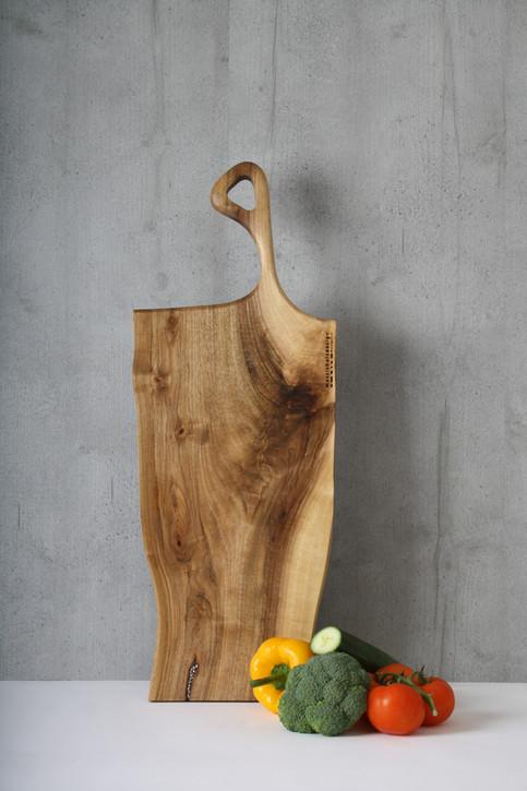Bild 18: Holz-Schneidebrett Swarovski-Elements.JPG