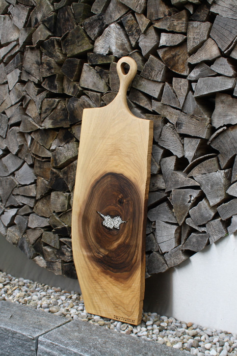 Bild 8: Holz-Schneidebrett Swarovski-Elements.JPG