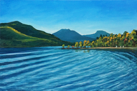 "Silver Bay Ripples, Lake George 20x30"""