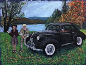 1939 Buick Special Opera Coupe with Bryan and Jo Blas
