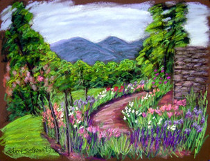 "Olana Garden, 19x25"""