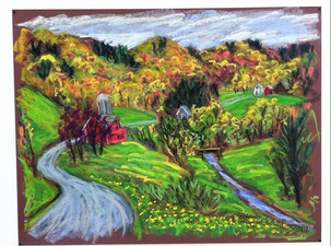 """On the Road to Treadwell, 19x25"""""""