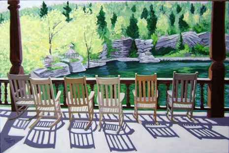 """Mohonk Porch, 40x60"""""""