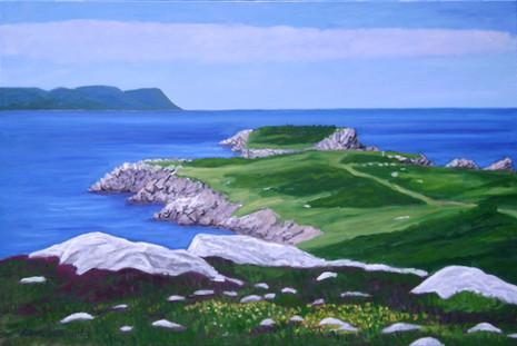 """White Point, Cape Breton, 20x30"""""""