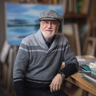 Robert Selkowitz in his Ashokan studio