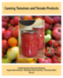 Canning Tomatoes and Tomato Products